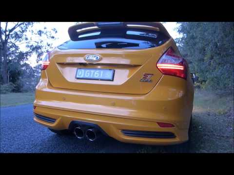 2014 Focus ST COBB Catback Exhaust vs Stock
