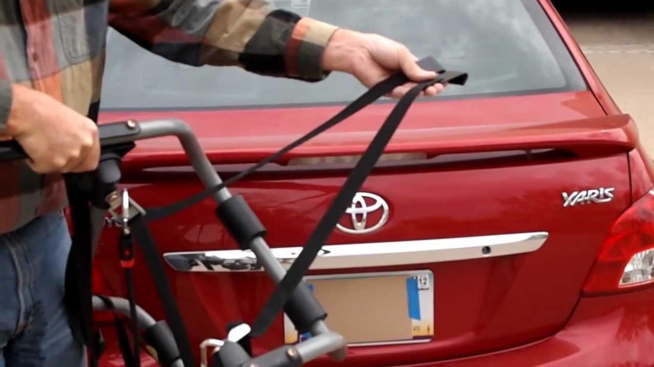 installing bicycle rack