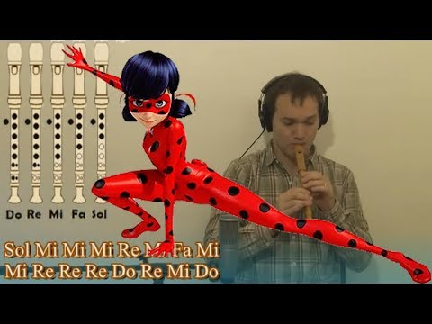 Miraculous Ladybug - Recorder Cover & Tutorial - Sheetmusic & Backing Track in Patreon