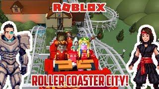Roblox: parque temático HEIDELAND! Roller Coaster City!