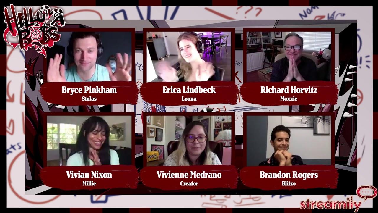 HELLUVA BOSS Cast LIVE Panel!