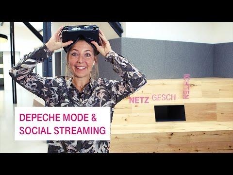 Social Media Post: Depeche Mode, Streaming und Virtual Reality - Netzgeschichten