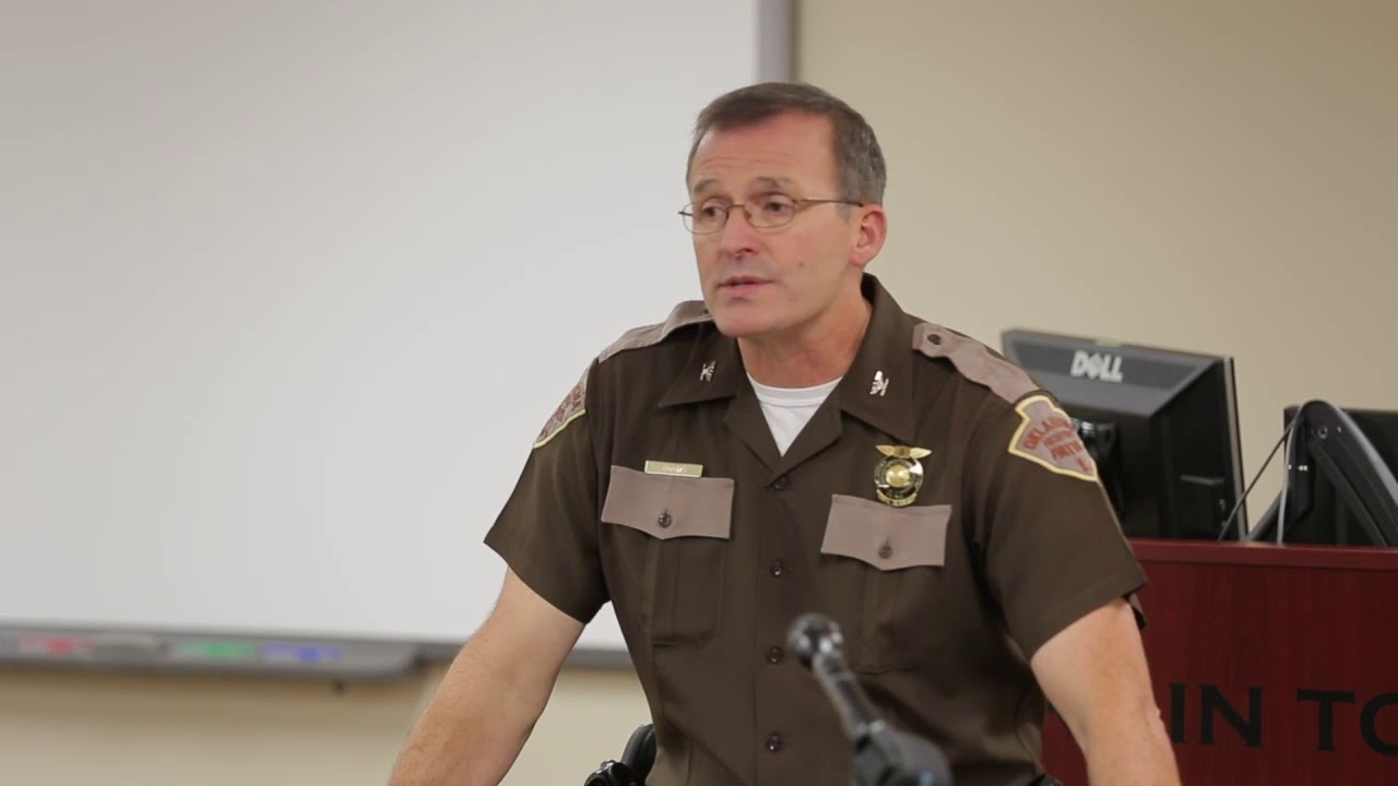 Eric The Car Guy On Youtube: OHP Trooper Eric Roberts Arrested (2014-09-15)