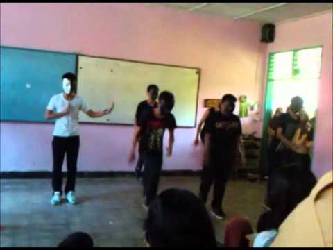SHUFFLE DI SMA NEGRI 13 PALEMBANG BUDAK BWSS