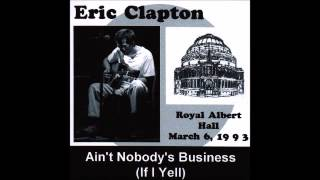 Eric Clapton - Meet Me Down at the Bottom - Live at RAH 6 Mar 1993