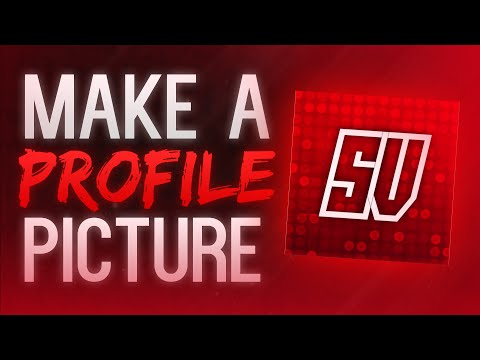 How to Make a Profile Picture/Avatar for Your YouTube Channel without Photoshop! (2017)