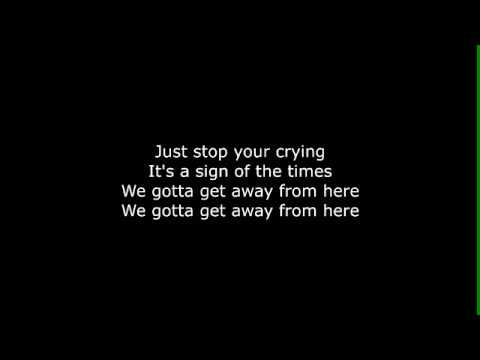 Ellie Goulding ft. Kygo - Sign Of The Times LYRICS (Harry Styles cover)
