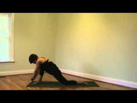 hip flexor/hamstring stretch yoga for athletes a  youtube