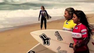 The Girls are back in town and ready to rock the French waves - SWATCH GIRLS PRO France 2011.mp4