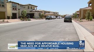 The push for affordable housing in Las Vegas