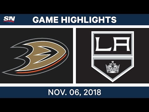 NHL Highlights | Ducks vs. Kings – Nov. 6, 2018