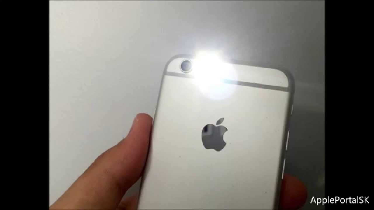 How To Turn On The LED Notification Light On Your IPhone HD SK