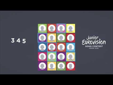 """Голосование зрителей на детском """"Евровидении-2018"""""""