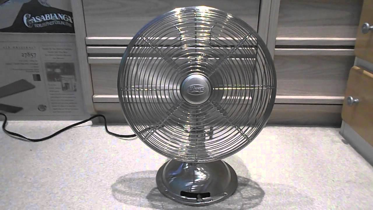 33 Cool Retro Pedestal Fan With