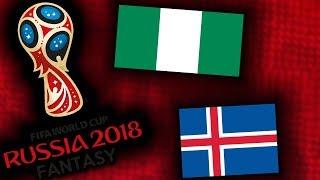 2018 RUSSIA FANTASY VB | IZLAND - NIGÉRIA