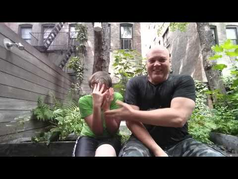 Donofrio and son bucket challenge