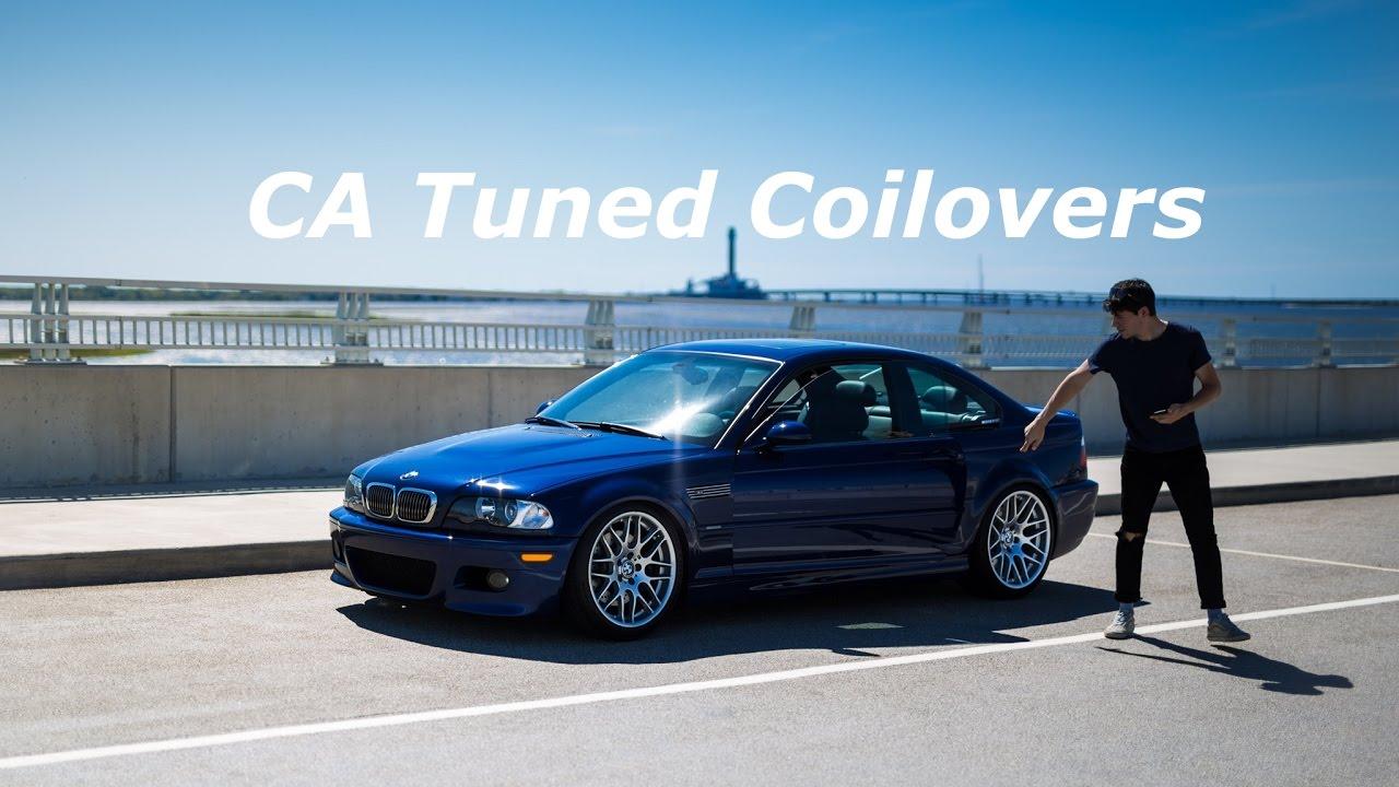 E46 M3 CA Tuned Coilover Review