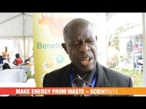 #PMLIVE: MAKE ENERGY FROM WASTE – SCIENTISTS