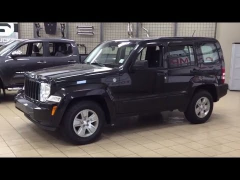 2012 jeep liberty sport review youtube. Black Bedroom Furniture Sets. Home Design Ideas