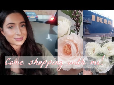 SHOP WITH ME! *NEW IN* IKEA, NEXT HOME, WILKO - CHRISTMAS DECORATIONS / GREY & BLUSH PINK INTERIOR