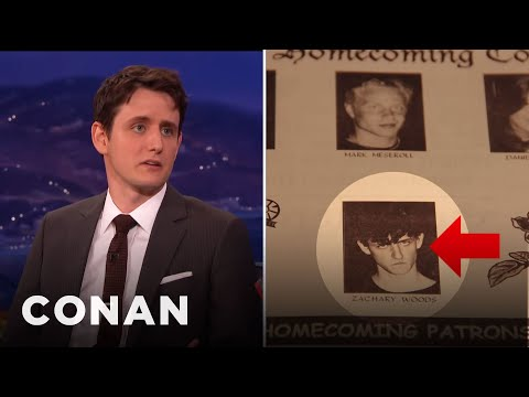 Zach Woods Was Voted Homecoming King   CONAN on TBS