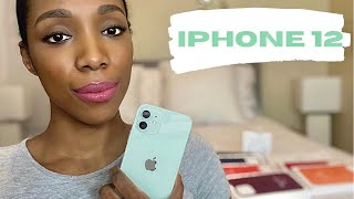 iPhone 12 Green Unboxing with Accessories  Cases + MagSafe Chargers