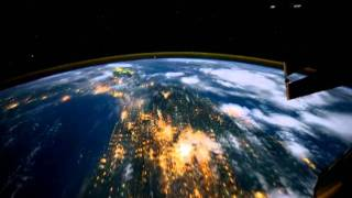 A Space Voyage (Earth Orbit in Time-Lapse) NASA~ with original piano music