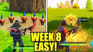 WEEK 8 CHALLENGES GUIDE FAST & EASY! ALL WEEK 8 CHALLENGES GUIDE FORTNITE TIPS AND TRICKS!