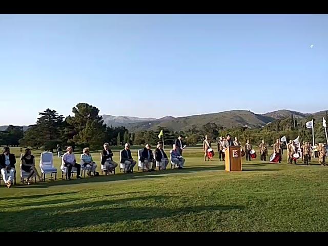 Facundo Cepeda dio la bienvenida en el Campeonato de Golf