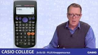 Casio fx-82ES PLUS - Knoppencursus