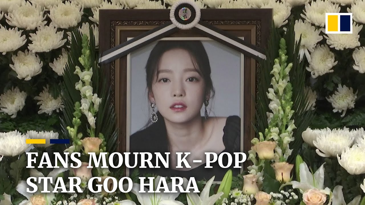 Fans mourn death of 15 year old K pop singer Goo Hara