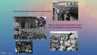 De Eerste Wereldoorlog (deel 1)