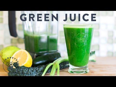 Green Juice Recipe for Clean Body & Soul - Honeysuckle