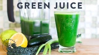 Green Juice Recipe for Clean Body & Soul - HoneysuckleCatering