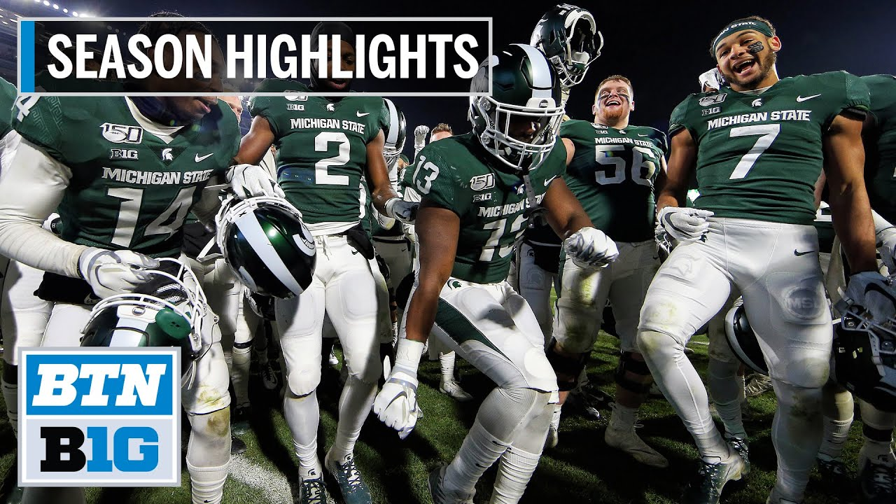 2019 season highlights michigan state heads to the pinstripe bowl b1g football youtube 2019 season highlights michigan state heads to the pinstripe bowl b1g football