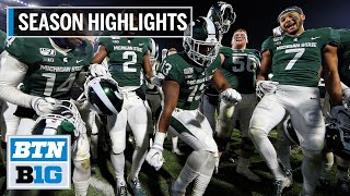 2019 Season Highlights: Michigan State Heads to the Pinstripe Bowl | B1G Football