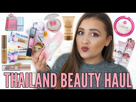 THAILAND BEAUTY HAUL | Cathy Doll, Beauty Buffet, Mistine & More!