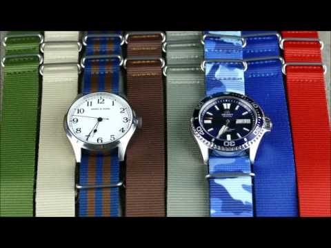 On the Wrist, from off the Cuff:  NATO Strap versatility, Featuring WCWC NATO's