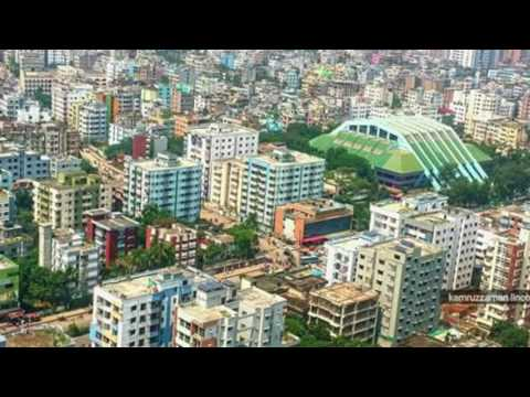 Beautiful Dhaka city.
