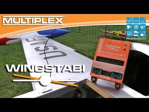 WINGSTABI RX-16-DR pro M-LINK von MULTIPLEX Modellsport Video Testbericht - Praxistest & Flugbericht