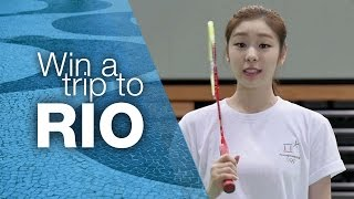 Join Yuna Kim, Get Active and Win a Trip to Rio | Olympic Day 2015