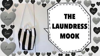 雑誌付録MOOKダイジェスト  the Laundress(ザ・ランドレス)バケツ型トートバッグ