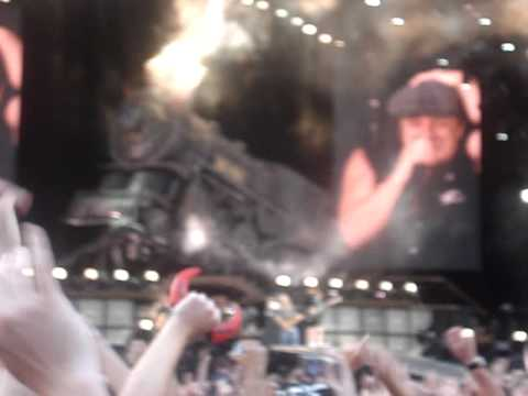AC/DC- ##Hampden Park 2009- Back in Black!!- Excuse the movement-VERY HYPED!!##