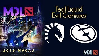 Liquid vs EG | Grand Finals - MDL Macau 2019