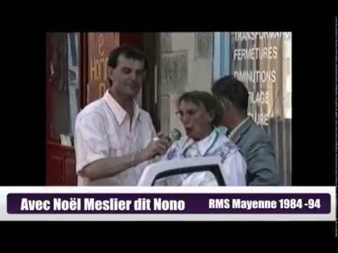 Nono Noel Meslier premiere radio musique service Perrine FM Laval