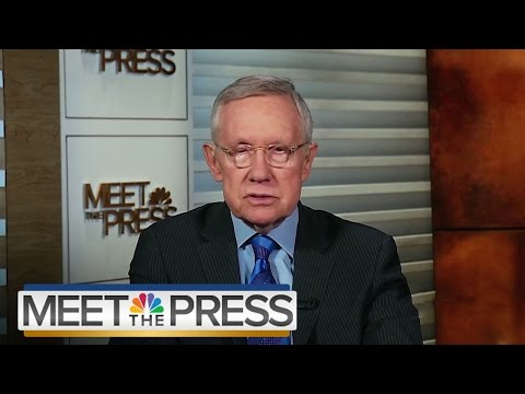 Harry Reid on Supreme Court Fight (Full Interview) | Meet The Press | NBC News
