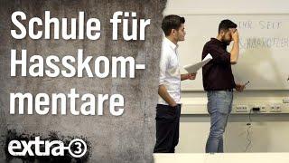 Schule für Hasskommentare