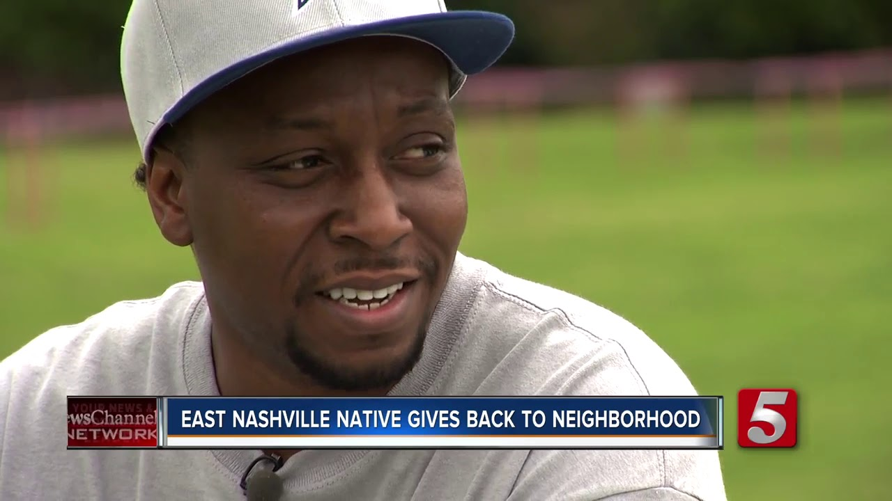 Rapper and Filmmaker Gives Back To His Old Neighborhood