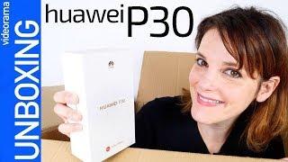 Huawei P30 unboxing -un MATE 20 disfrazado-