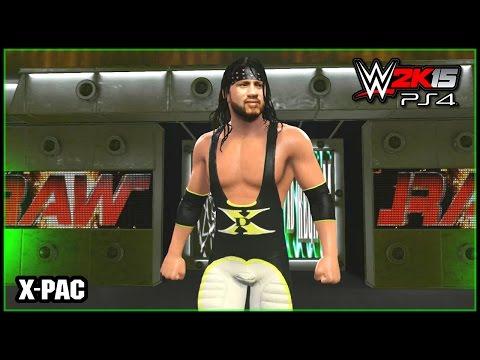 WWE 2K15 PS4, XB1 : X-Pac DX Attire (2000) - Community Creations (CAW)